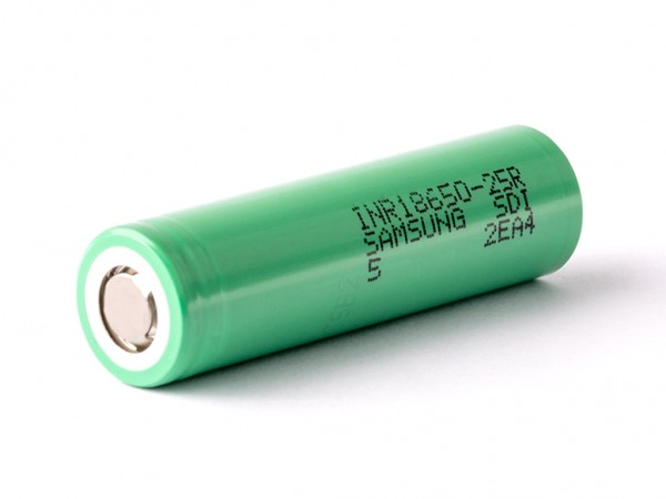 Samsung INR18650 25R 2500 mAh