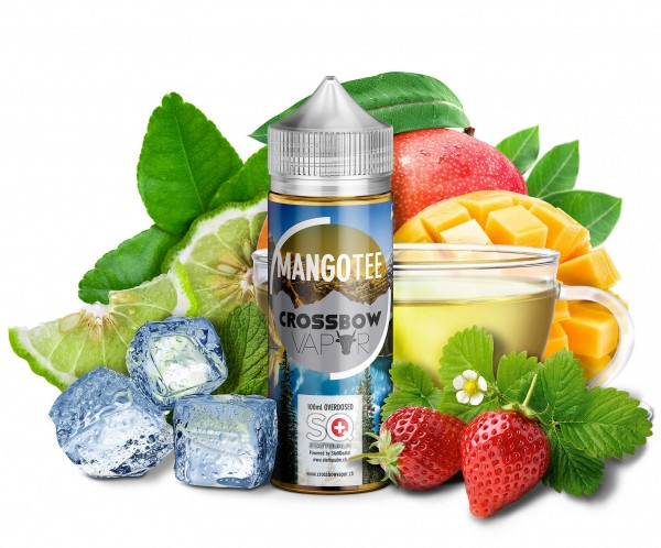 Crossbow Vapor MangoTee 100ml Shortfill