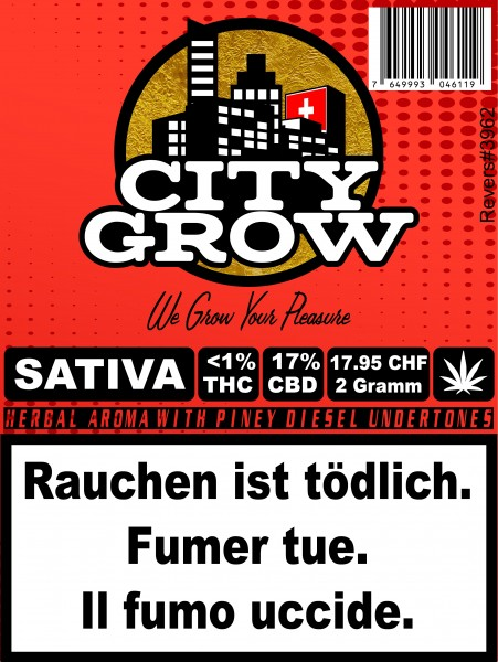 City Grow - Sativa CBD