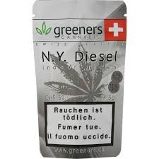 GREENERS CBD New York Diesel Hanfblüten