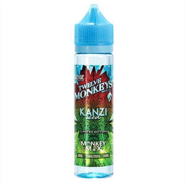 Twelve Monkeys - Kanzi Iced 50ml Shortfill