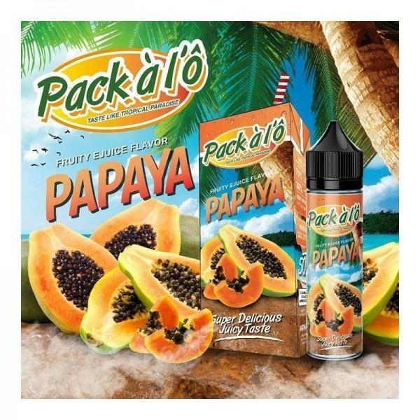 Pack à l'Ô - Papaya 50ml Shortfill