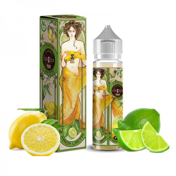 Curieux - Citron Limette 50ml Shortfill