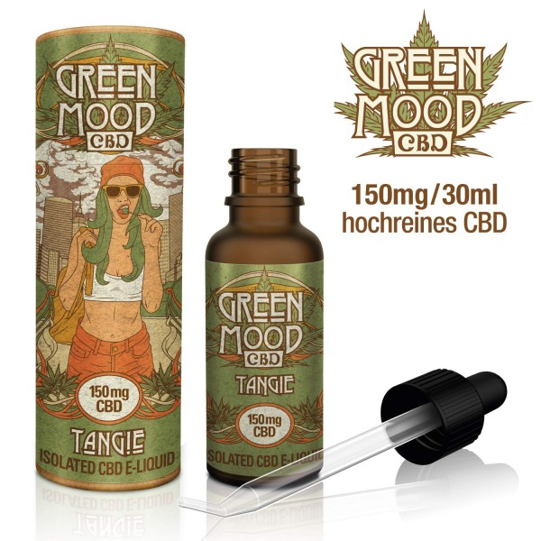 Green Mood CBD eLiquid Tangie 30ml