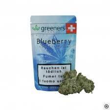 GREENERS CBD Blueberry Hanfblüten