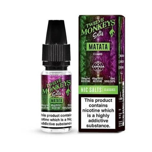 Twelve Monkeys Salts - Matata 10ml, 20mg Nic Salt