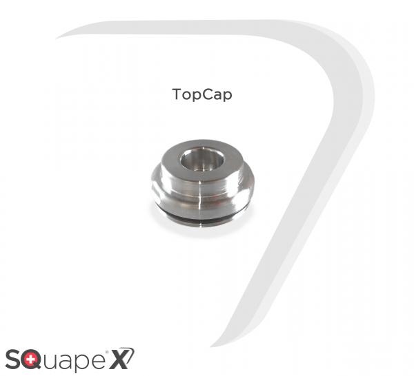 Stattqualm - TopCap Edelstahl für Squape X