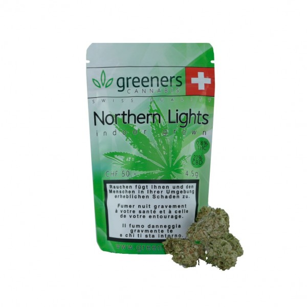 GREENERS CBD Northern Lights Hanfblüten