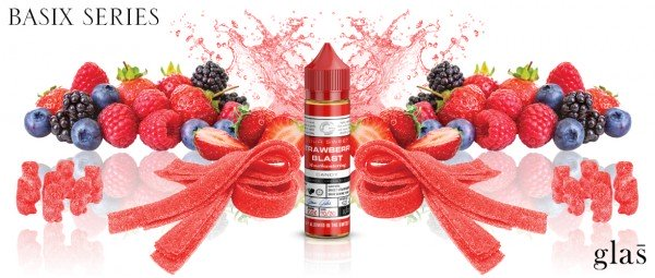 Glas Basix - Strawberry Gummy 50ml