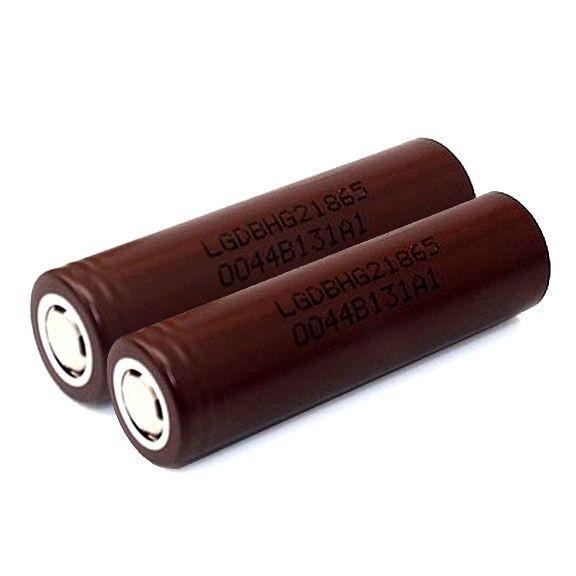 Akkuzellen 18650 - LG HG2 INR18650 3000mAh/ 20A