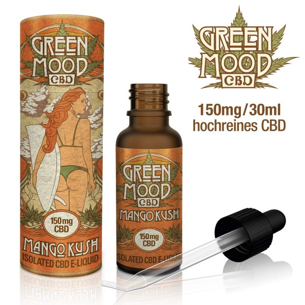 Green Mood CBD eLiquid Mango Kush 30ml