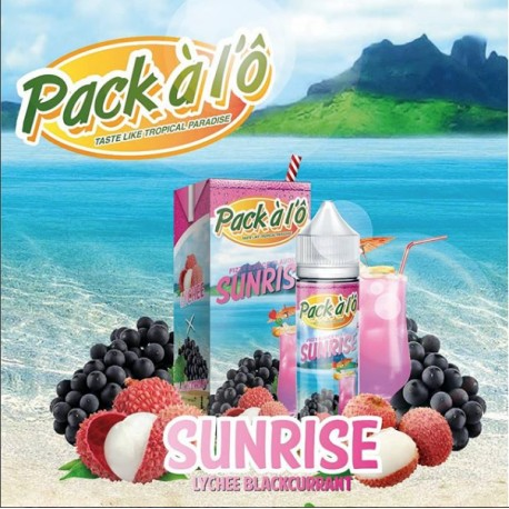 Pack à l'Ô - Sunrise 50ml Shortfill