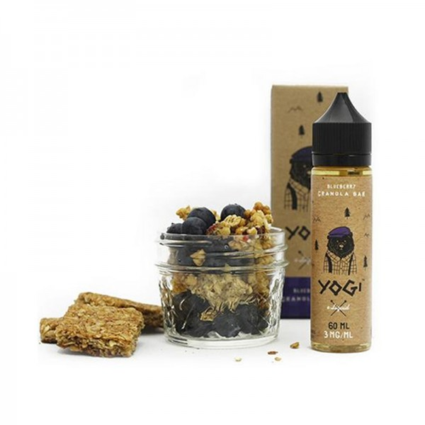 Blueberry Granola Bar (50ml) Plus e Liquid by Yogi