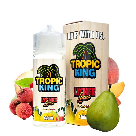 Tropic King - Lychee Luau 120 ml Shortfill