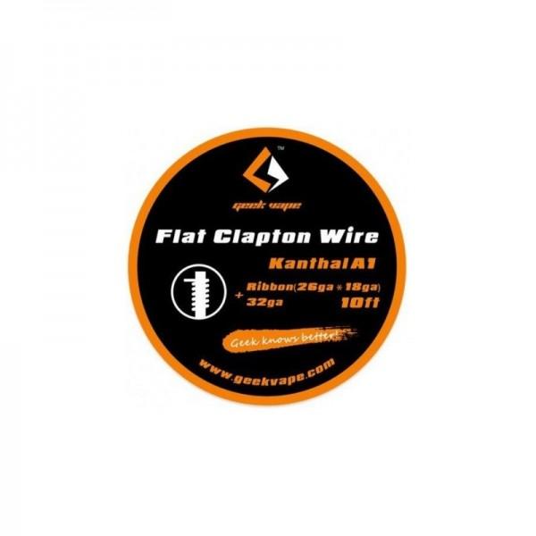 GeekVape - Wickeldraht Kanthal Flat Clapton auf Rolle