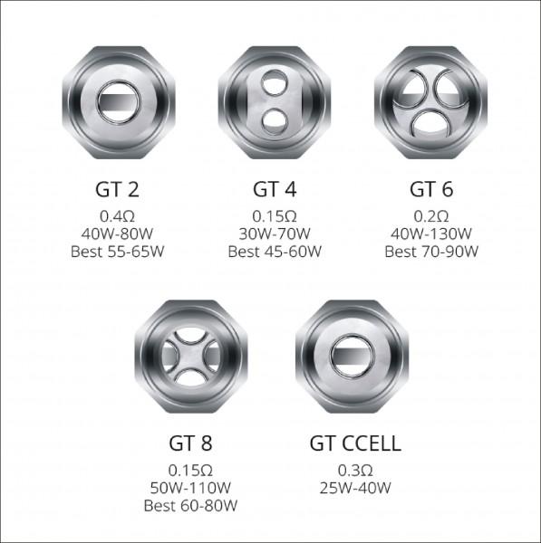 Vaporesso - GT Cores Ersatz Coils