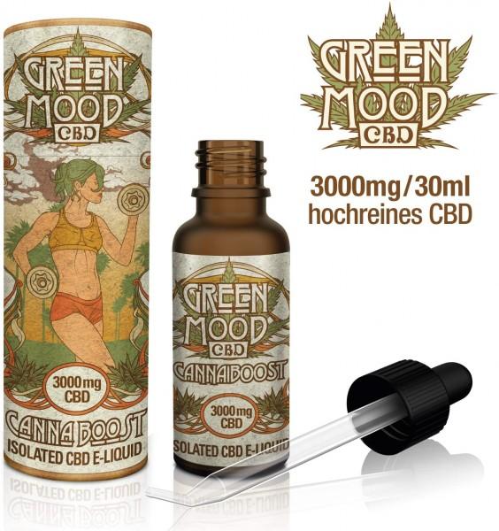 Green Mood CBD eLiquid Canna Boost 30ml