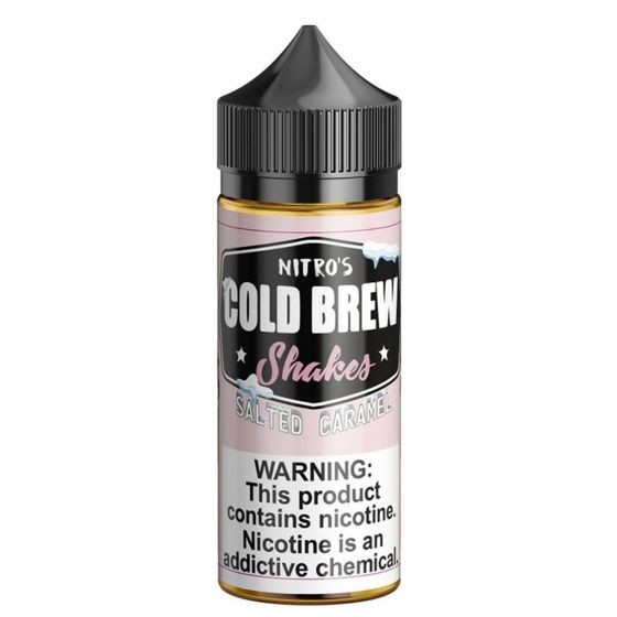 Nitros Cold Brew - Saltet Caramel 120ml Shortfill