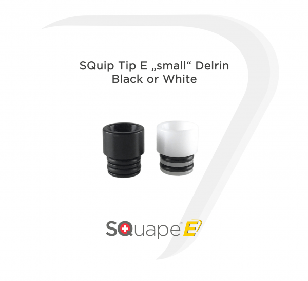 "SQuip Tip E ""small"" Black"