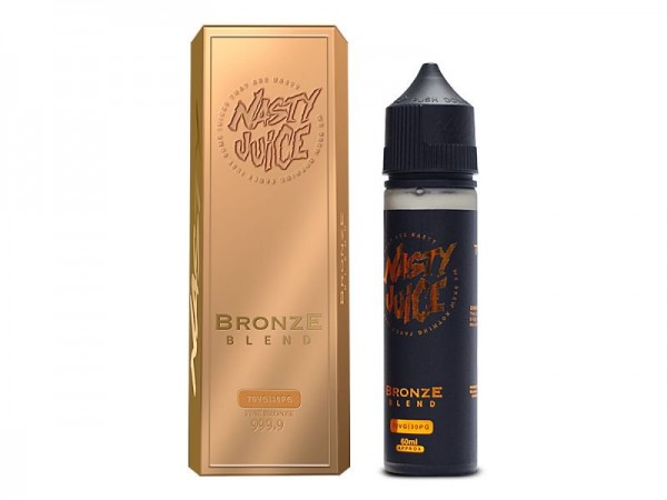 Tobacco Bronze Blend (50ml) Plus e Liquid by Nasty Juice