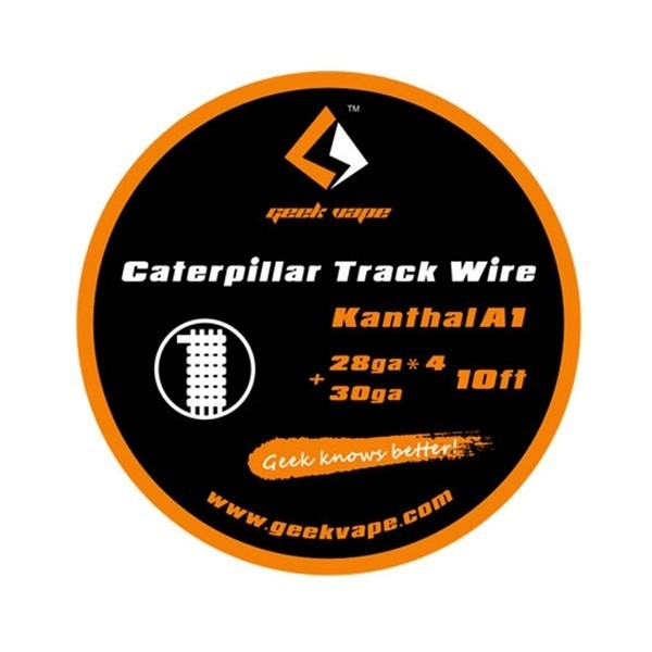 GeekVape - Wickeldraht Caterpillar Track auf Rolle
