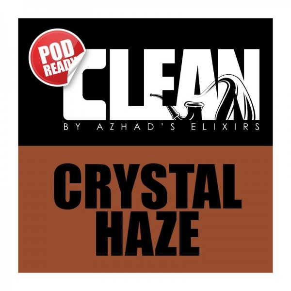 Azhad's Elixirs - Clear - Crystal Haze 20/60ml Longfill