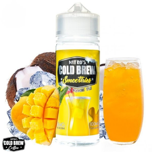 Nitros Cold Brew - Mango Coconut Surf 120ml Shortfill
