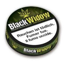 Black Widow CBD Hanf Blüten 2g