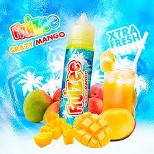 Fruizee E-Liquid - Crazy Mango 50ml Shortfill