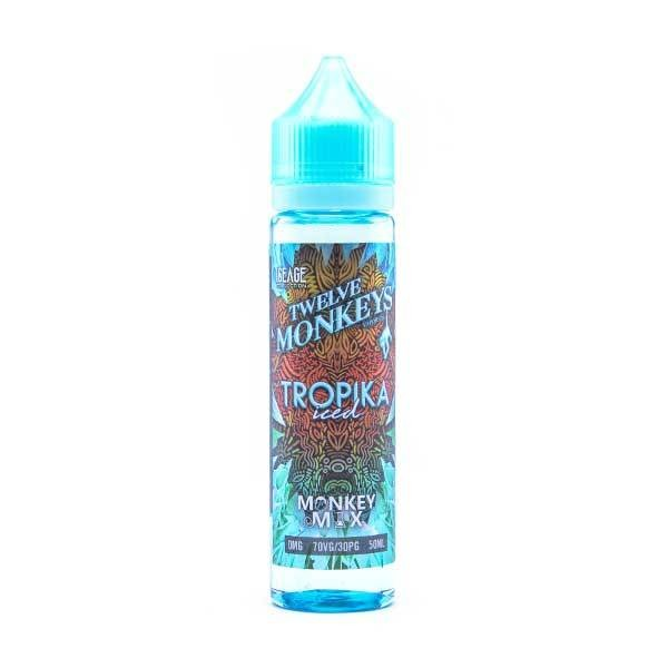Twelve Monkeys - Tropika Iced 50ml Shortfill