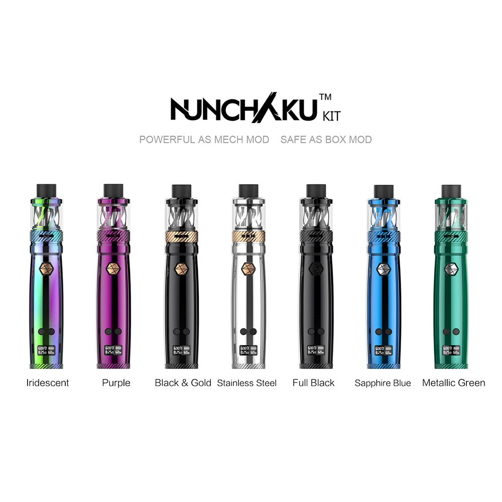 Uwell Nunchaku 80w Tc Kit Starter Kits Set Smoken Vape Gmbh