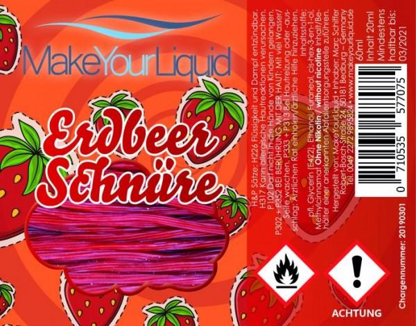 Make Your Liquid - Erdbeerschnüre Longfill