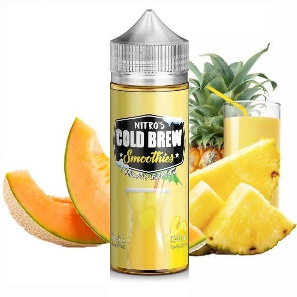 Nitros Cold Brew - Pineapple Melon Swirl 120ml Shortfill