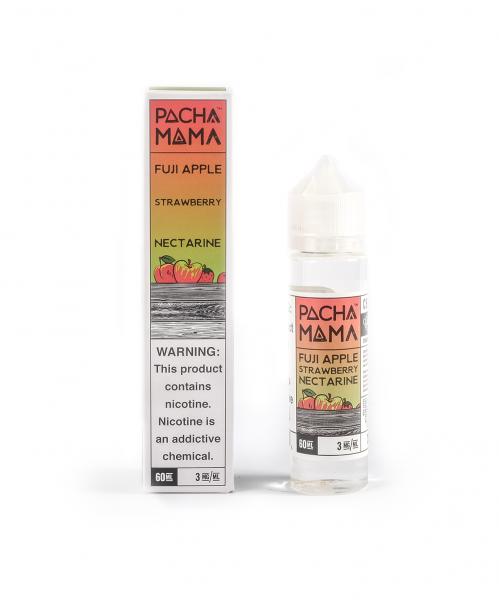Pacha Mama Fuji Apple, Strawberry, Nectarine 50ml PLUS